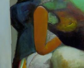 Drei Frauen, Acryl auf Leinwand, 60x80cm, 2008