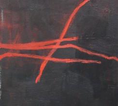 Spuren III, Acryl auf Leinwand, 40x80 cm, 2013